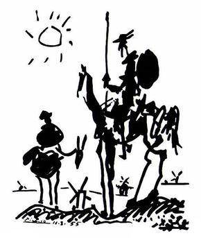 Don_Quixote_(1955)_by_Pablo_Picasso